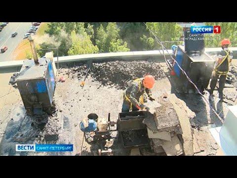 Кровли Петербурга ремонтируют с помощью экологичных технологий