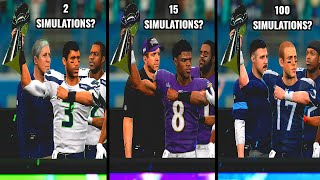 How Many Simulations Will It Take For EVERY Team to Get to a Superbowl?