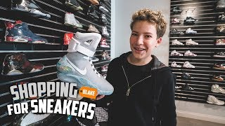 Shopping For Sneakers With The Youngest & Biggest Hypebeast