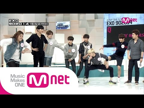 Mnet [EXO 902014] : K-POP 기습체크 미리보기! 일심동체! 댄스 텔레파시!