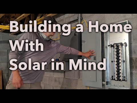 New construction designed for solar
