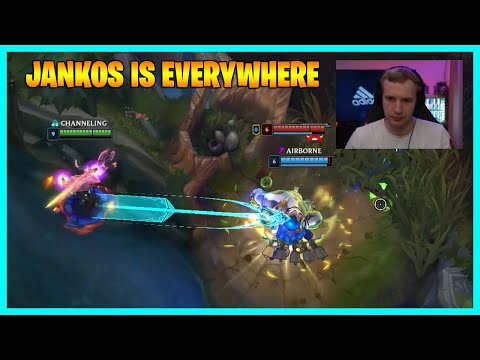 JANKOS IS EVERYWHERE...LoL Daily Moments Ep 1556