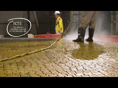 How to Apply Increte Stamped Concrete