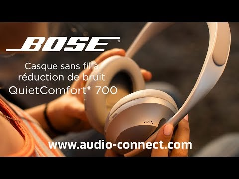 video Bose Headphones 700 Limited Edition Soapstone