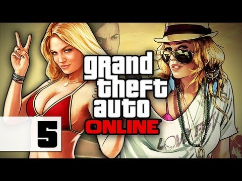 Grand Theft Auto Online - Gameplay - Part 5 - Worst Insurance Company | DanQ8000