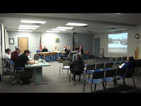 Town of Plattsburgh Zoning Board Meeting  1-14-20