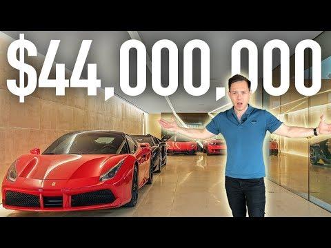 Inside a $44,000,000 Custom Built Hollywood Mansion photo