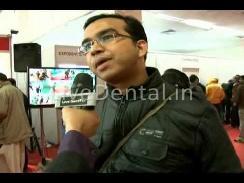 LiveDental.in | Dr Yogesh Agarwal in Expodent International 2012