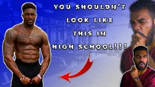 This Is What *NFL COMBINE KING* D.K. Metcalf Looked Like In High School!!! | Sharpe Sports