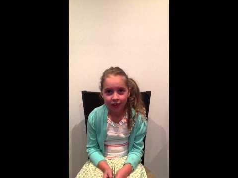 5 year old Australian girl on physical activity
