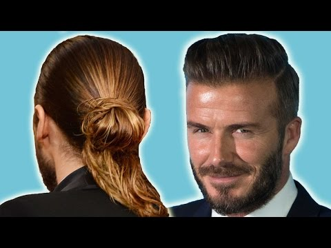 13 Celebs Who've Expertly Rocked Man Buns