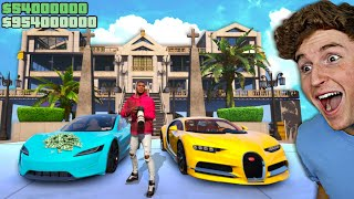 Playing GTA 5 As The RICHEST YouTuber.. (Mods)