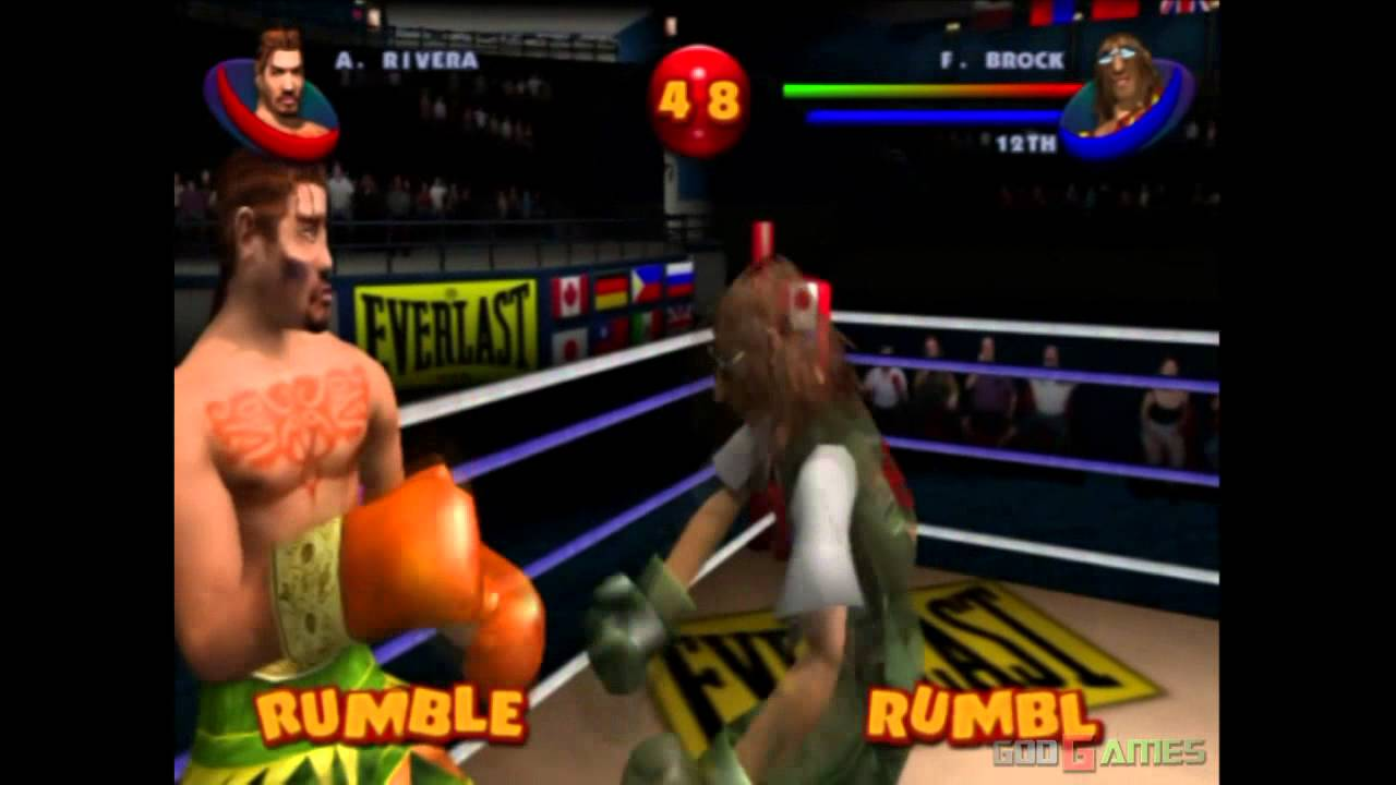 Ready 2 Rumble Boxing Round 2 - Gameplay PS2 (PS2 Games on PS3) - YouTube