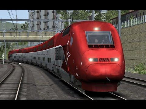 train simulator avignon tgv marseille saint charles with thalys pbka musica movil. Black Bedroom Furniture Sets. Home Design Ideas