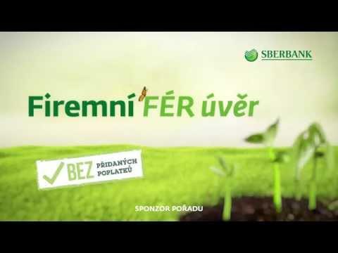 Sberbank CZ – sponzor pořadu – Firemní FÉR úvěr – září 2015