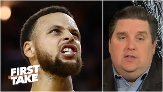 'I am really concerned' if Steph faces the Lakers in a play-in game - Brian Windhorst | First Take