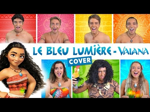 Le Bleu Lumière - Vaiana (How Far I'll Go French Cover) - DisCover