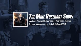 🔴Live Real Estate Q&A Episode 15  - The Wise Wealth Show @7pm