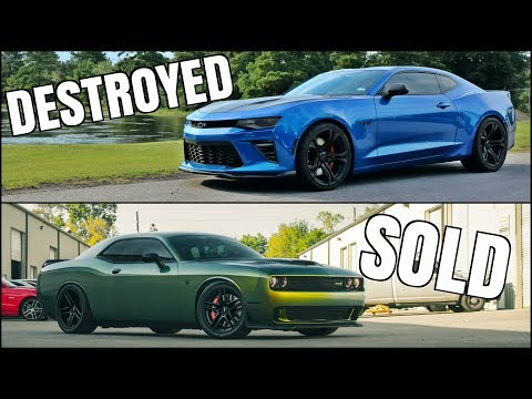 My Camaro was DESTROYED & I SOLD My Hellcat
