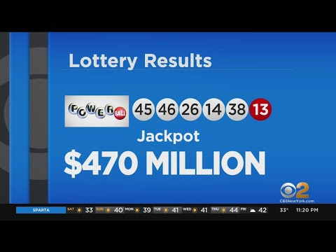 Winning Powerball Numbers Announced For $470 Million Jackpot