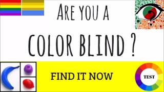 Are You Color Blind? Quick Test