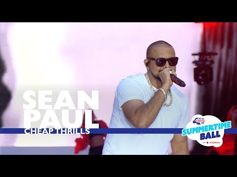 Sean Paul - 'Cheap Thrills'  (Live At Capital's Summertime Ball 2017)