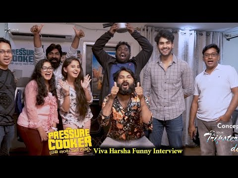 Viva Harsha Funny Interview with Pressure Cooker Movie Team