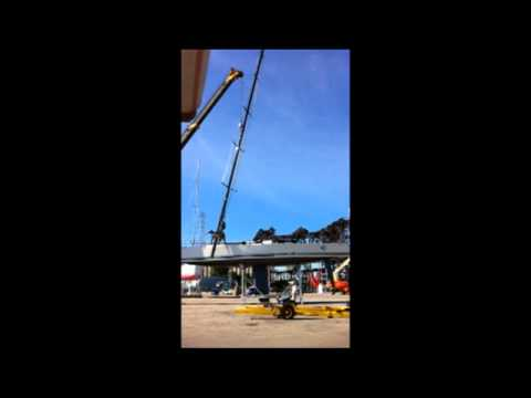 Mast Unstepping Time Lapse