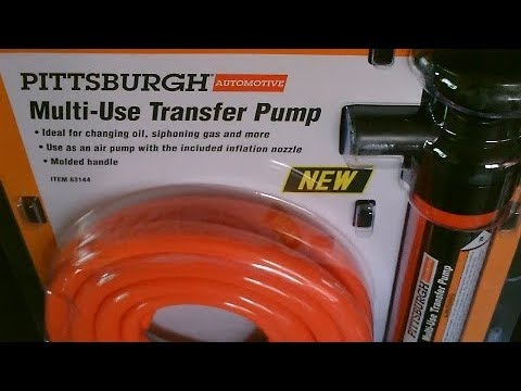 Multi-Use Transfer Pump! (Review/Overview) - Water/Air/gas fluid siphon pump! only $5