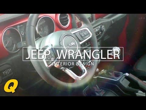 All new 2018 Jeep Wrangler Interior Design