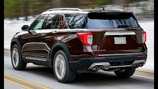 2020 Ford Explorer Interior, Exterior and Drive