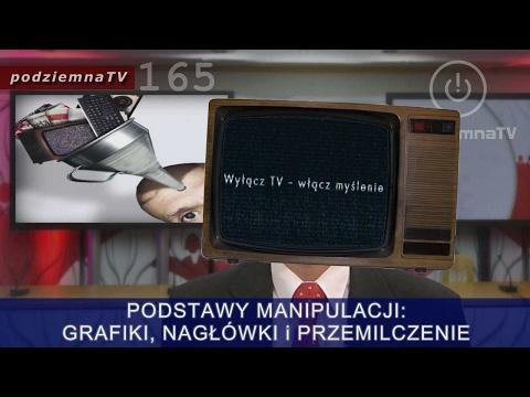 Robią nas w konia: MEDIA Techniki MANIPULACJI. Podstawy i przykłady #165