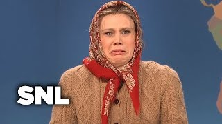 Weekend Update: Olya Povlatsky on the Russian Meteor Explosion - SNL