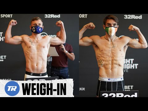 Carl Frampton and Michael Conlan Make Weight | Both Fights Official for tomorrow on ESPN