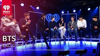 BTS Talks With Halsey + More! | iHeartRadio LIVE!