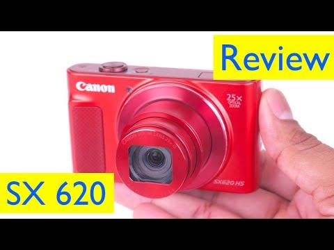 video Canon SX620 Compact Camera,20.2 MP,25x Optical Zoom and 3 Inch Screen –