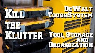 DeWalt ToughSystem Tool Storage Organization