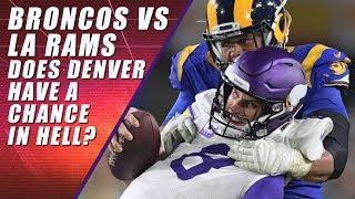Los Angeles Rams vs Denver Broncos: NFL Sunday