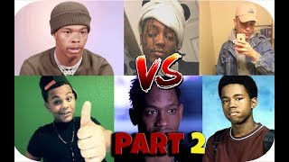 Rappers First Songs vs Songs That Blew Them Up vs Most Popular Songs 🔥 (Part 2)