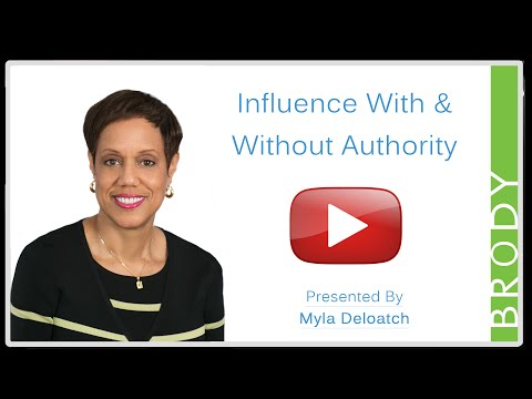 Influence With & Without Authority