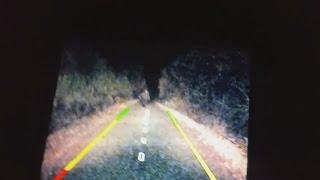 Bigfoot Chasing Car In Colorado (Breakdown)