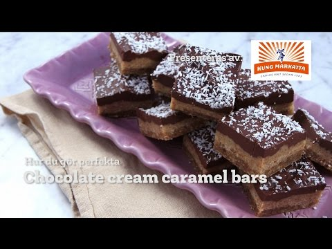Chocolate cream caramel bars från Kung Markatta