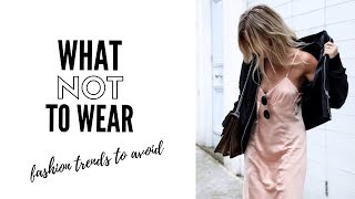Top Fashion Trends To Avoid In 2019 - How To Style - YouTube