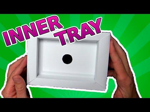 ✂️COMO hacer INSERTOS de cajas de videojuegos de Super NINTENDO[Inner Tray]