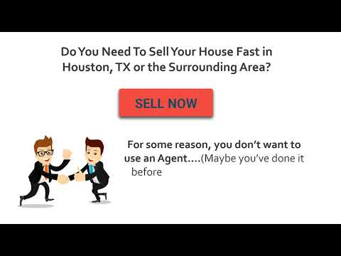 Sell My House Fast in Houston Texas