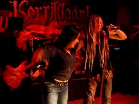 Korpiklaani - Tequila [LIVE] + taking shots w/ sexy girl from crowd