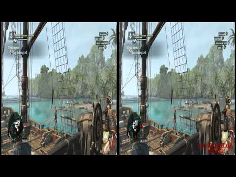 YT3D - Assassins Creed IV 3D: Black Flag Very High Settings S6M1 Walkthrough Live Stream Part 10