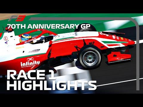 F3 Race 1 Highlights | 70th Anniversary Grand Prix 2020