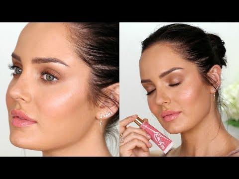 How to get Creamy Dewy Skin! \ Natural Glow Makeup Tutorial