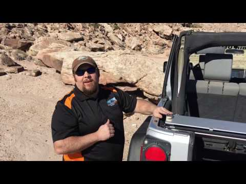 MORE's Jeep JK Roller Sun Shade - Hard Top Install